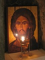 The icon of Christ in the Church of Holy Archangel Gabriel