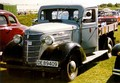 1930s Chevrolet Commercial truck with third-party cab.
