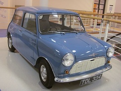 Morris Mini-Minordesigned by Alec Issigonisby order of Leonard Lordrunner-up to Model T Ford forcar of the century