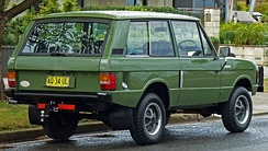 Range Rover three-door