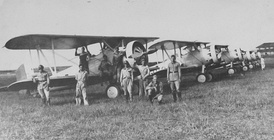 5th Aviation Regiment in Curitiba, Paraná, Brazil in 1932.