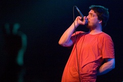 Aesop Rock performing live