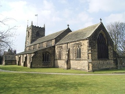 All Saints' Parish Church.