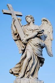 Angel with a Cross, by Ferrata