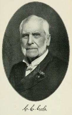 Co-founder Justice Chester C. Cole