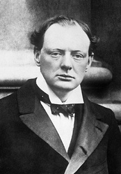 Churchill in 1904.