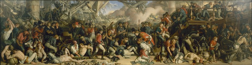 The Death of Nelson by Daniel Maclise (Houses of Parliament, London)