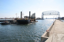 The Port of Duluth-Superior, the largest freshwater port in the world