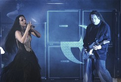 Evanescence performing at the concert in Le Zénith, Paris, featured on Anywhere but Home