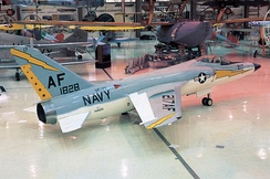 F11F-1 of the National Museum of Naval Aviation at NAS Pensacola, Florida