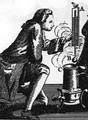 Daniel Gabriel Fahrenheit was a physicist, engineer, and glass blower who is best known for inventing the mercury thermometer (1714), and for developing a temperature scale now named after him.