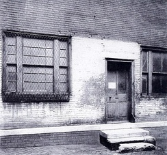 First United States Mint (Philadelphia photo from 1904)