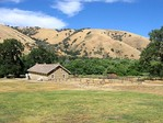 Fort Tejon Barracks from CO Qtrs.JPG