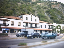 The old buildings of the Guipuzcoan Company of Caracas in La Guaira