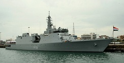 Saryu-class patrol vessel of the Indian navy