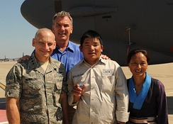 "James ""Jim"" Kowalski, Tom Whittaker, Chhiring Dorje Sherpa and Dawa Yangzum Sherpa"