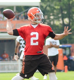 Johnny Manziel (2014–2015)