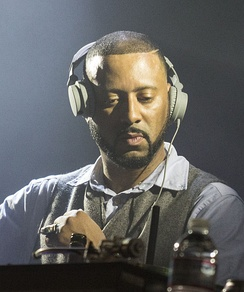 Madlib (pictured in 2014), producer of the album and half of the duo