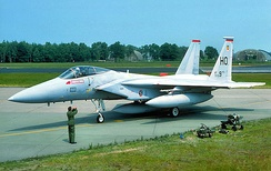 F-15A Eagle 77-0110 9th Tactical Fighter Squadron
