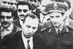 Aflaq, the leader of the party's civilian-wing, and Jadid, a senior figure in the planning of the coup d'état