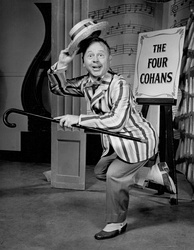 Mickey Rooney as Cohan in the 1957 Mr. Broadway television special