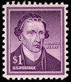 Patrick Henry $1 stamp, Liberty issue, 1955