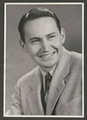 Black and white Utah State University yearbook photograph of L. Tom Perry. Image dates from 1947.