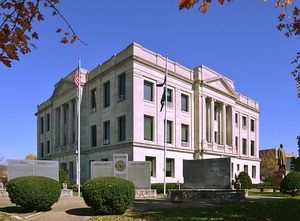 Pike County Courthouse in Bowling Green
