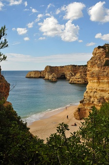 The Marinha Beach in Lagoa, Algarve is considerated by the Michelin Guide as one of the 10 most beautiful beaches in Europe and as one of the 100 most beautiful beaches in the world.