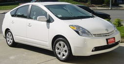 This 2004 Toyota Prius hybrid has an Atkinson-cycle engine as the petrol-electric hybrid engine
