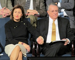 Rosana and Ulisses Soares