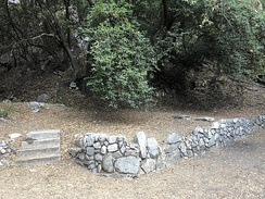 The ruins of Orchard Camp can still be visited on the Mt Wilson Trail.