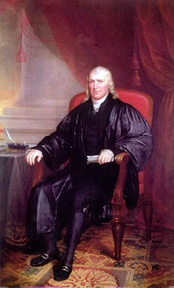 Samuel Chase, firebrand revolutionary and later a justice of the United States Supreme Court.