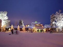 The Santa Claus Village in Lapland