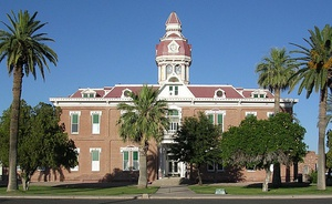 Second Pinal County Courthouse in Florence