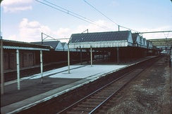 The station after closure in 1971