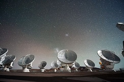 Antennas of the Atacama Large Millimeter submillimeter Array.[6]