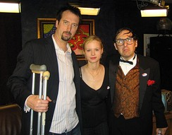 Green, Thora Birch, and Neil Hamburger at The Channel in 2006