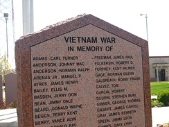 Listing of Amarillo-area personnel killed in the Vietnam War