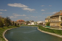Lake (former Begej riverbed) in Zrenjanin