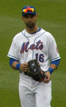 Pagán during his tenure with the New York Mets in 2010