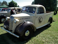 1940 Bedford JC coupe utility