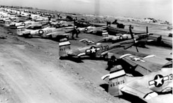 Flight Line, Iwo Jima, Field No. 2, Spring 1945