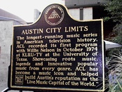 Austin City Limits sign at ACL Live – Moody Theater in Austin, TX (2012)