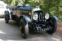 Bentley 4½ Litre No. 10 took third at the 1929 24 Hours of Le Mans