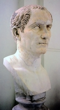 Bust of Caesar from the Naples National Archaeological Museum