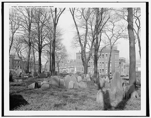 Copp's Hill Burying Ground, founded 1659