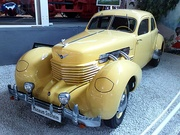1937 Cord automobile model 812, designed in 1935 by Gordon M. Buehrig and staff