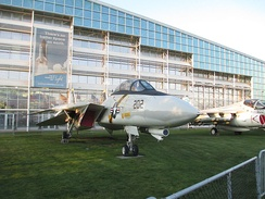 "F-14A of VF-84 ""Jolly Rogers"" at the Museum of Flight"