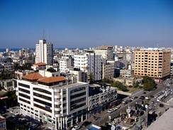 Gaza City in 2007.